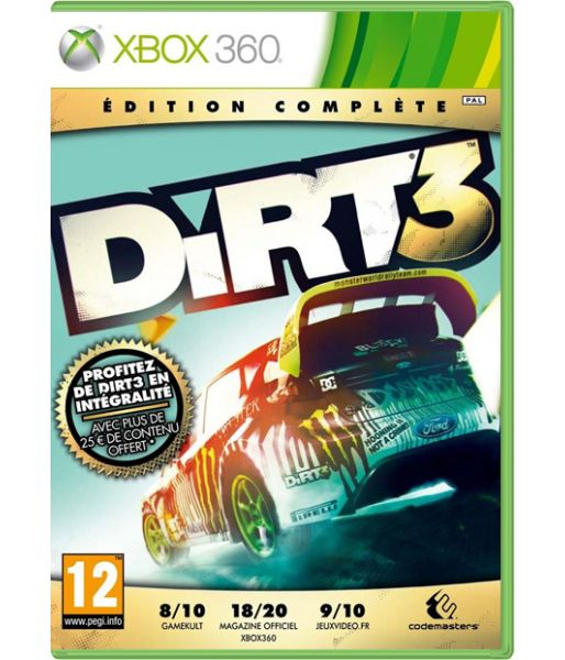 DiRT3: Complete Edition (Xbox 360)